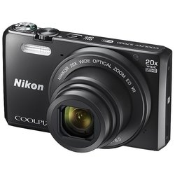 Nikon Coolpix S7000 (черный)