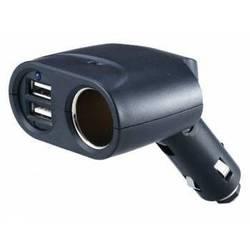 Разветвитель прикуривателя Wiiix TR-04U2 (черный)