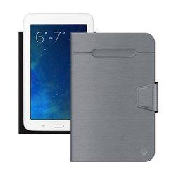 """Универсальный чехол-книжка для планшетов 6-7"""" (Deppa Wallet Fold 87026) (серый)"""