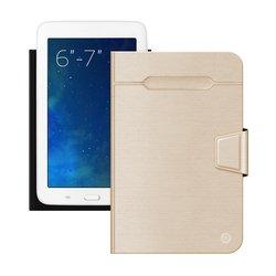 """Универсальный чехол-книжка для планшетов 6-7"""" (Deppa Wallet Fold 87027) (золотистый)"""