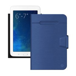 """Универсальный чехол-книжка для планшетов 6-7"""" (Deppa Wallet Fold 87029) (синий)"""