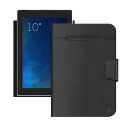 """Универсальный чехол-книжка для планшетов 10"""" (Deppa Wallet Fold 87035) (черный)"""