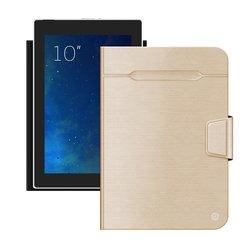 """Универсальный чехол-книжка для планшетов 10"""" (Deppa Wallet Fold 87037) (золотистый)"""