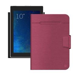 """Универсальный чехол-книжка для планшетов 10"""" (Deppa Wallet Fold 87038) (красный)"""