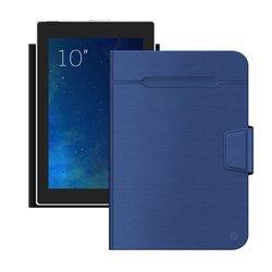 """Универсальный чехол-книжка для планшетов 10"""" (Deppa Wallet Fold 87039) (синий)"""