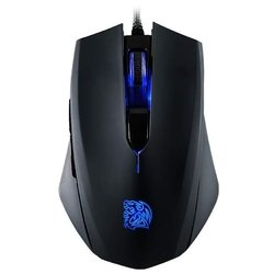 tt esports by thermaltake gaming mouse talon blu black usb
