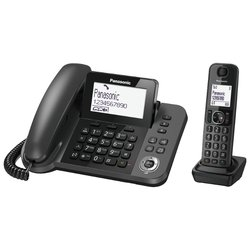 Panasonic KX-TGF310 (серый)