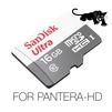 SanDisk Video Full-HD / Super-HD, Ultra SPEED, 16Gb For PANTERA-HD - Карты памятиКарты памяти<br>Карта специально разработана для работы с видео высокого разрешения Full-HD и Super-HD. Передача данных на скорости до 48Мб/с наилучшим образом подходит для видеорегистраторов PANTERA-HD, которые требуют высокоскоростной передачи (записи) видео данных в разрешении Super-HD 2560х1080. Другие, менее скоростные и дешовые карты приведут к разрывам и подттормаживанию видео. В этом случае придется устанавливать меньшее разрешение, качество видео и битрейт в видеорегистраторе PANTERA-HD, что по сути не даст использовать видеорегистратор на полную его мощность.<br>