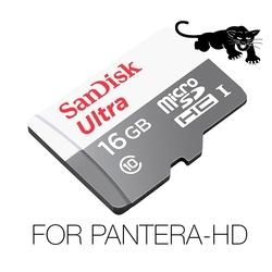 SanDisk Video Full-HD / Super-HD, Ultra SPEED, 16Gb For PANTERA-HD