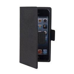 """Универсальный чехол-книжка для смартфонов до 5"""" (Muvit MUCUN0280) (черный)"""