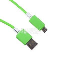 Дата-кабель USB - microUSB (0L-00000707) (зеленый)