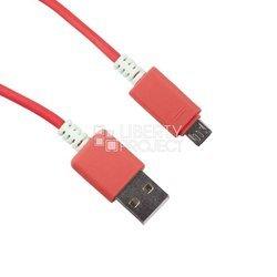 Дата-кабель USB - microUSB (0L-00000703) (красный)