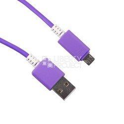 Дата-кабель USB - microUSB (0L-00000704) (фиолетовый)