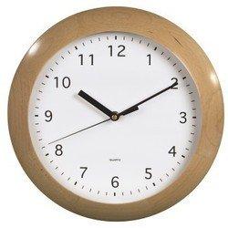 Часы Hama H-106948 (белый/бежевый)