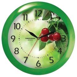 Часы настенные Тройка 11120162 (зеленый)