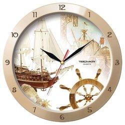 Часы настенные Тройка 11135172 (бежевый)