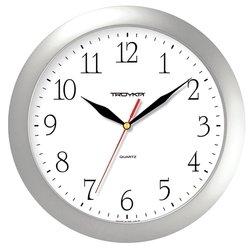 Часы настенные Тройка 11170113 (серебристый)