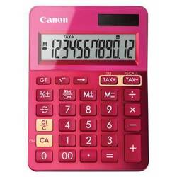 Калькулятор настольный Canon LS-123K-MPK (розовый)