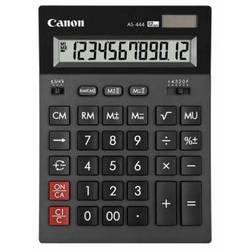 Калькулятор бухгалтерский Canon AS-444 (черный)