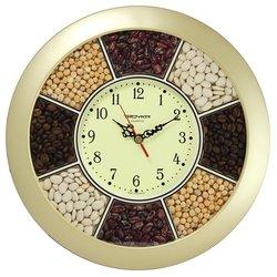 Часы настенные Тройка 11171141 (золотистый)
