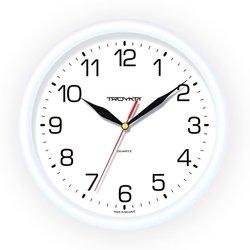 Часы настенные Тройка 21210213 (белый)