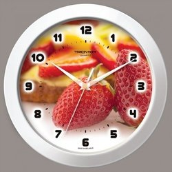 Часы настенные Тройка 51510531 (Клубника)