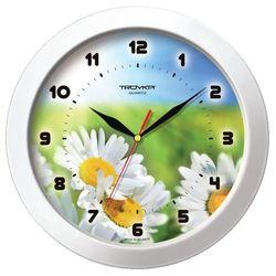 Часы настенные Тройка 51510532 (Ромашки)