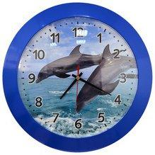 Часы настенные Тройка 51540520 (Дельфины)
