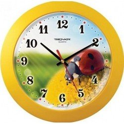 Часы настенные Тройка 51550522 (желтый)
