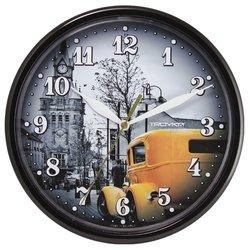 Часы настенные Тройка 91900929 (черный)