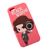 Чехол-накладка для Apple iPhone 5, 5S, SE (0L-00001383) (розовый) - Чехол для телефонаЧехлы для мобильных телефонов<br>Чехол-накладка плотно облегает корпус и гарантирует надежную защиту от царапин и сколов.<br>