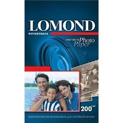 Фотобумага суперглянцевая 10 х 15 см (750 листов) (Lomond 1106203)