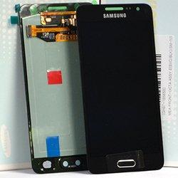 Дисплей для Samsung Galaxy A3 A300F в сборе (0L-00001721) (черный)