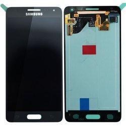 Дисплей для Samsung Galaxy Alpha G850F в сборе (R0007825) (черный)