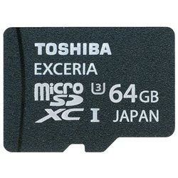 toshiba sd-cx64uhs1 + sd adapter