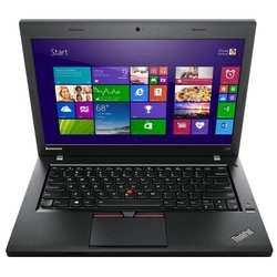 "lenovo thinkpad l450 (core i3 5005u 2000 mhz/14.0""/1366x768/4.0gb/500gb/dvd нет/intel hd graphics 5500/wi-fi/bluetooth/win 7 pro 64)"
