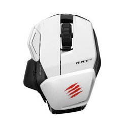 mad catz office r.a.t.m wireless mouse for pc, mac, android white usb