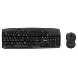 Мышь+клавиатура Gembird KBS-7003 (черный)