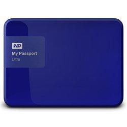 WD My Passport Ultra 1Tb (WDBDDE0010BBL-EEUE) (синий)