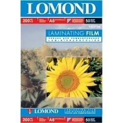 Глянцевая пленка A6 (100 листов, 50 пакетов) (Lomond 1302134)