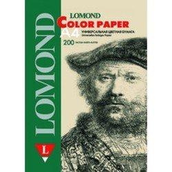 Офисная цветная бумага A4 (200 листов) (Lomond 1004209) (светло-зеленый)