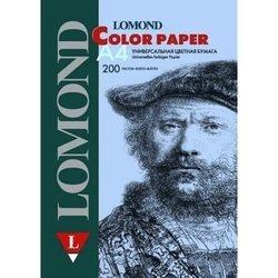 Офисная цветная бумага A4 (200 листов) (Lomond 1004213) (светло-голубой)