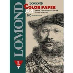 Офисная цветная бумага A4 (200 листов) (Lomond 1004210) (персиковый)