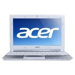 "acer aspire one aod270-268ws (atom n2600 1600 mhz/10.1""/1024x600/2048mb/500gb/dvd нет/wi-fi/bluetooth/win 7 starter)"