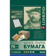 Самоклеящаяся бумага A4 (1650 листов) (Lomond 2100195ТЕХ) (в технологической упаковке)