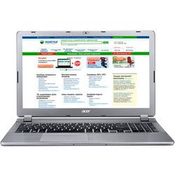"Acer Aspire E5-573-C68M (Celeron 3215U 1700Mhz/15.6""/1366x768/4Gb/500Gb/DVD-RW/Intel GMA HD/Wi-Fi/Bluetooth/Linux) (NX.MVHER.010) (серый)"