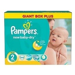 Pampers Baby Dry 2 (3-6 ��) 144 ��.