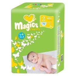 Magics Flexidry 2 (3-6 кг) 72 шт.
