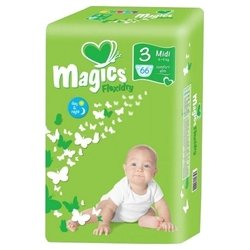 Magics Flexidry 3 (4-9 кг) 66 шт.