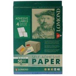 Самоклеящаяся бумага A4 (50 листов) (Lomond 2100025ТЕХ)